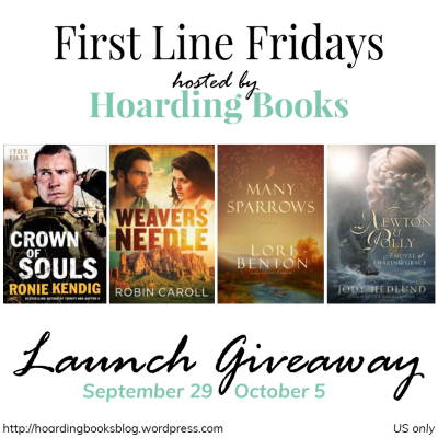 Hoarding Books First Line Fridays Launch Giveaway