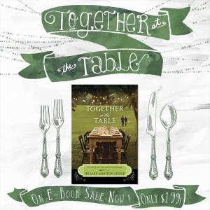 together at the table sale
