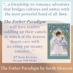 RT Book Review 4.5 star TOP PICK The Esther Paradigm by Sarah Monzon
