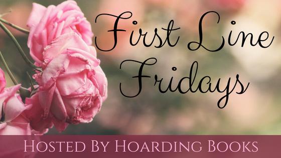 First Line Fridays on Hoarding Books