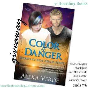Alexa Verde #giveaway on Hoarding Books
